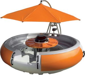 Donut-Shaped Party Boat