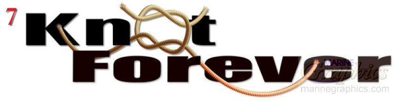 Knot Forever boat lettering