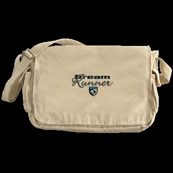 boat name canvas bag - Canvas Messenger Bag