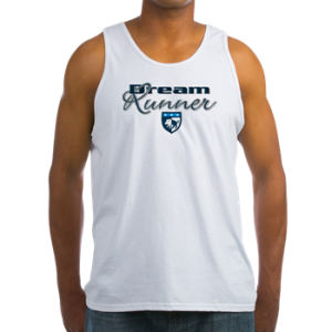Mens Tank Top T shirt with boat name