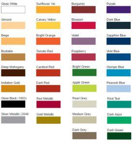 Custom Striping Colors