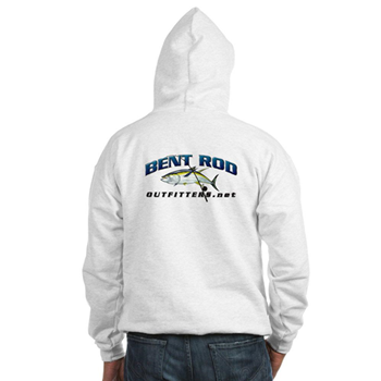 Mens Hoodie Back with boat name