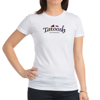 Womens Jr. Jersey T with boat name