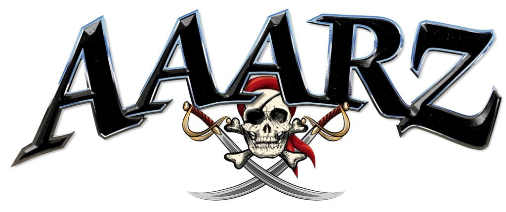 AAARZ Boat Lettering with Jolly Roger pirate 1
